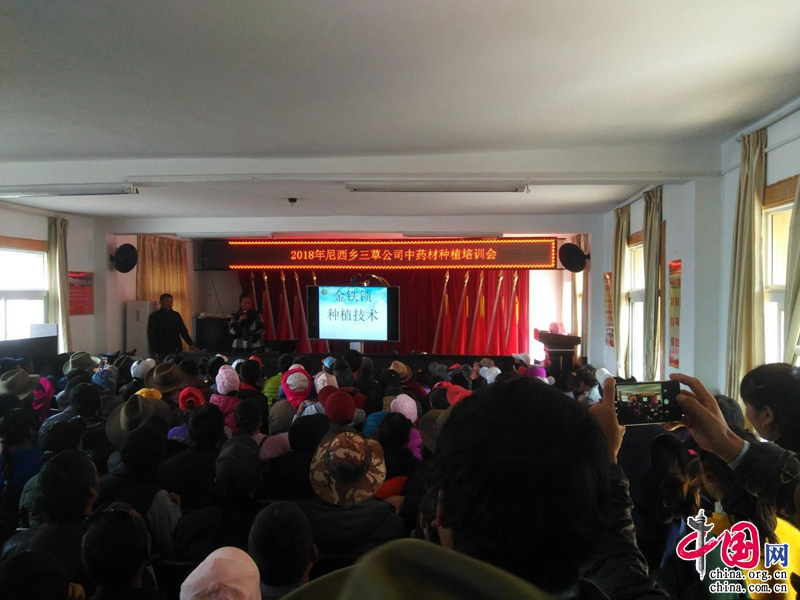 云南香格里拉市尼西乡举办中药材种植培训会
