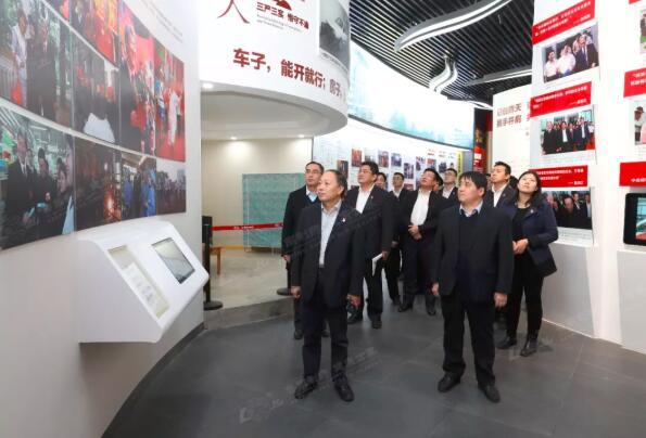 中国银行山东省分行曹英带队到鲁南制药参观学习