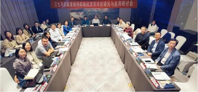 三七与天麻素制剂药物经济学评价研究与应用研讨会在京召开