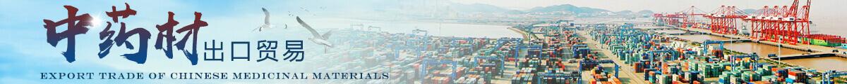 中药材出口与贸易